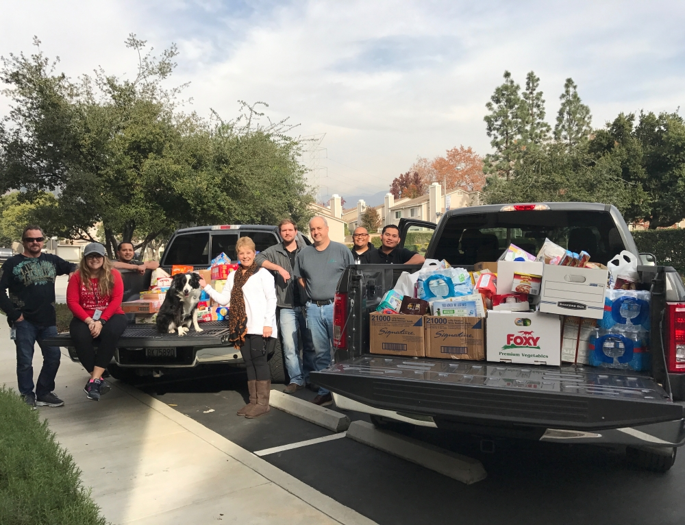 Over 500 Pounds of Food Gathered for Food Bank