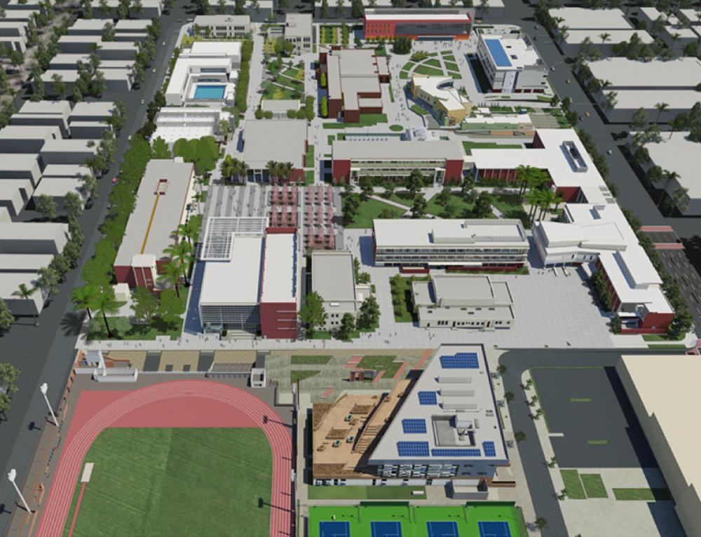 LACCD Los Angeles City College BAS Retrofit