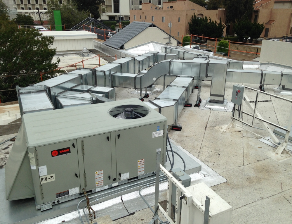 Kaiser Fontana Medical Center Chemical Dependency Recovery Program HVAC