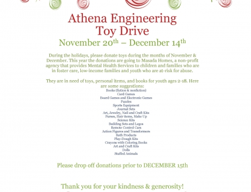 Holiday Toy Drive for Masada Homes